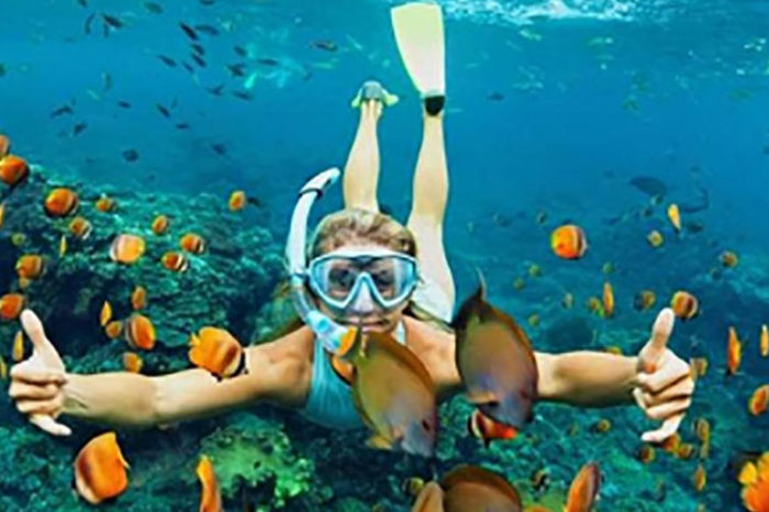 Blue hole in Dahab city with safari in the desert and canyon from sharm el-Sheikh  (6×1) excursion