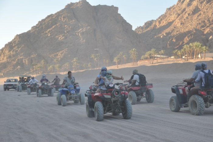 (moto safari )  quad runner from sharm elshiekh with VIP excursions
